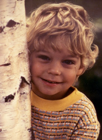 A portrait of the author as a young tree hugger.