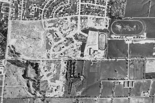 York Mills & Bayview, 1957
