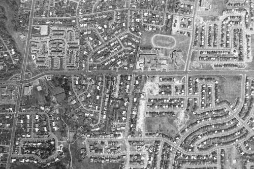 York Mills & Bayview, 1973