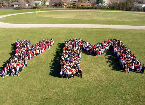 1,100 York Mills students prove that high schoolers really can spell