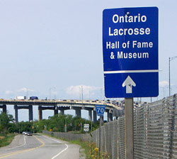 Straight ahead for the Ontario Lacrosse Hall of Fame