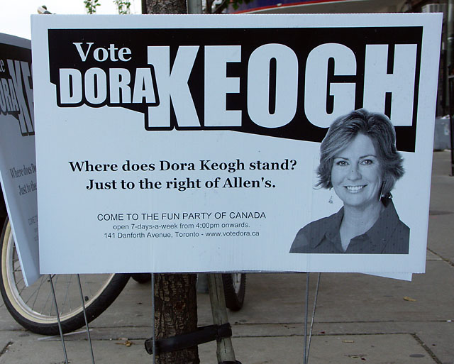 Vote Dora Keogh