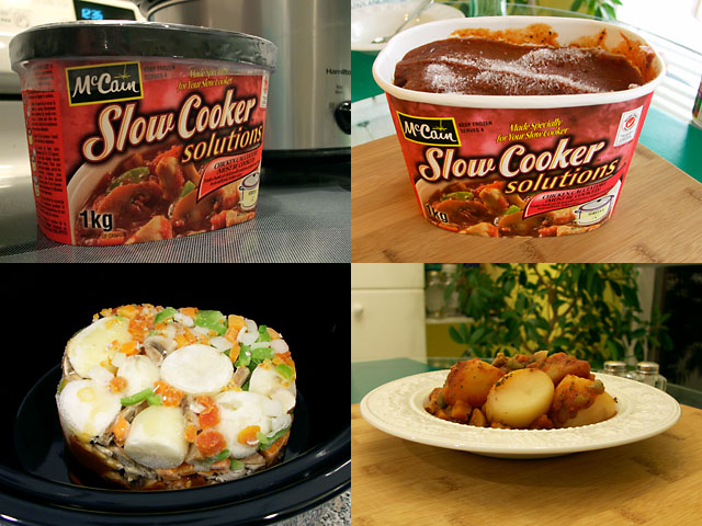 McCain Slow Cooker Solutions in four steps