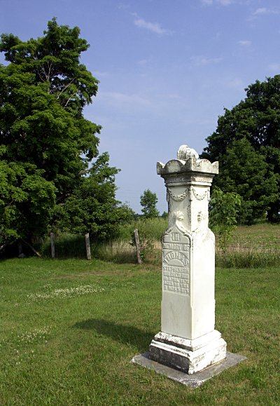 Old family cemetery in Pickering