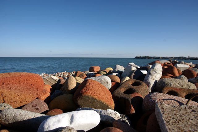 Brick Beach on the Leslie Street Spit