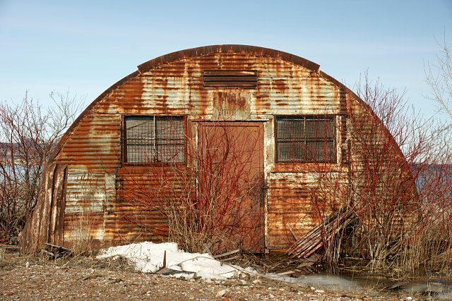 Quonset Hut on the Leslie Street Spit