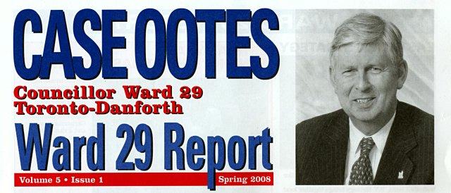 Case Ootes newsletter Spring 2008