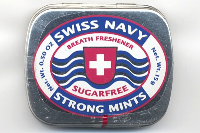 Swiss Navy Strong Mints box