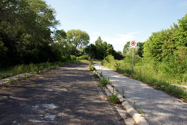 Old DVP on-ramp from York Mills Road