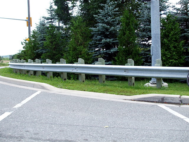 Curb cut to nowhere