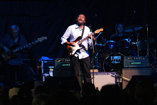Robert Cray brings it at the Kitchener Blues Festival