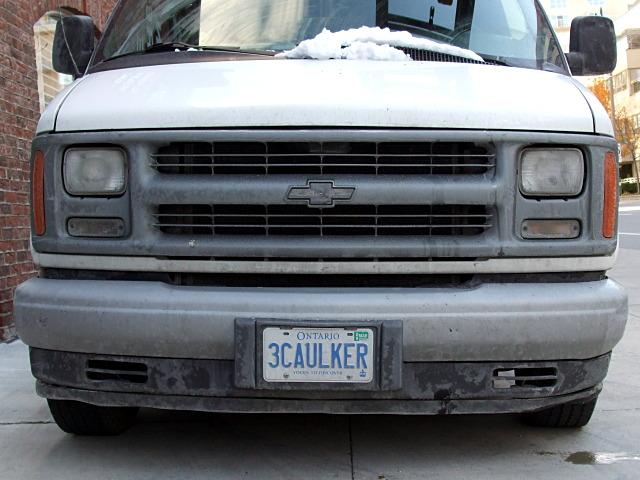 3caulker licence plate