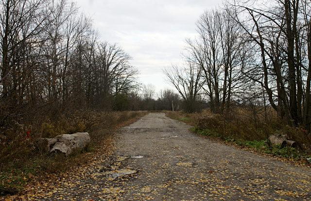 Passmore Avenue looking east toward Littles Road