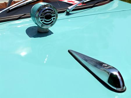 Classic car hood