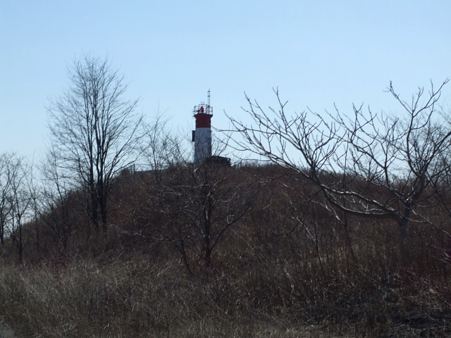 The lighthouse from afar