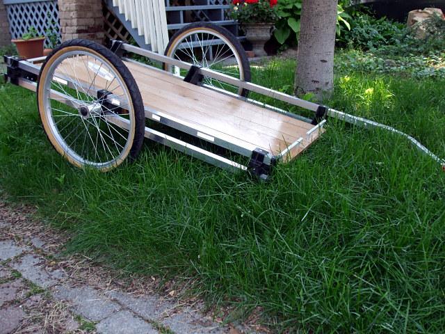 DIY bike trailer