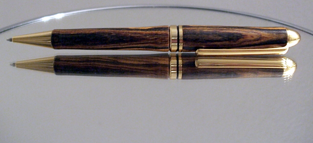 My Bocote pen