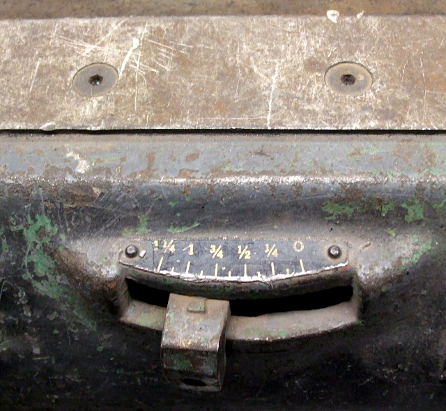 Face on a metal-bending brake