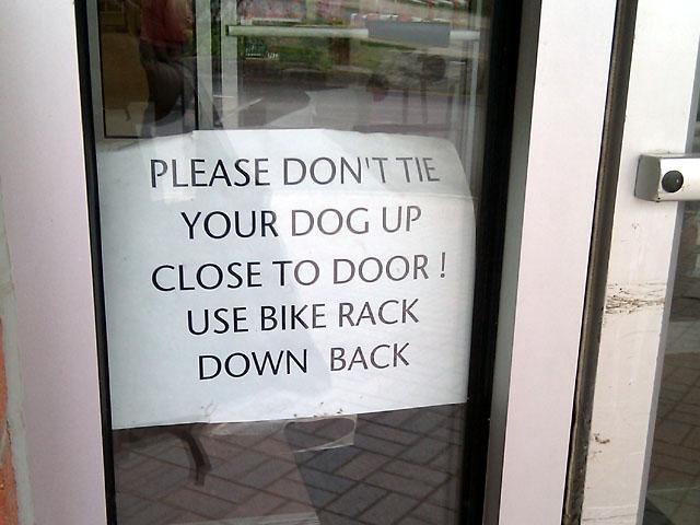 Bike rack or dog rack?
