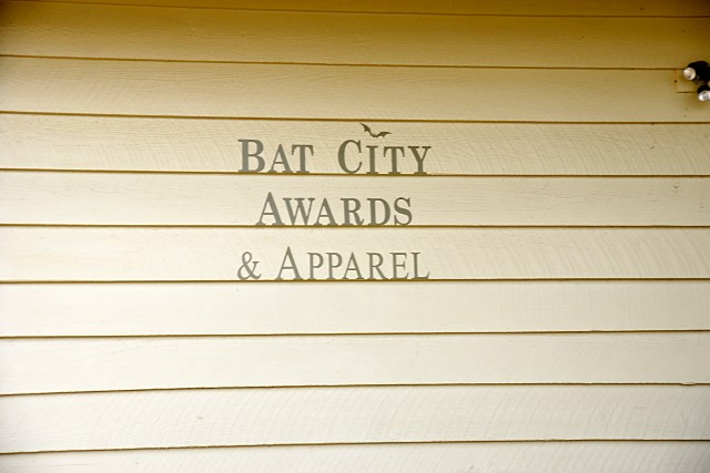 Bat City Awards and Apparel
