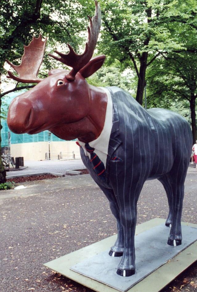 Bay Street Moose in The Hague, 2001