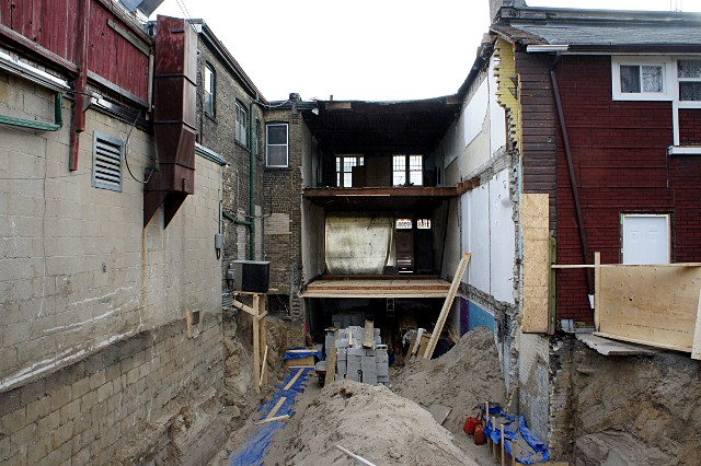 2200 Danforth Avenue from behind