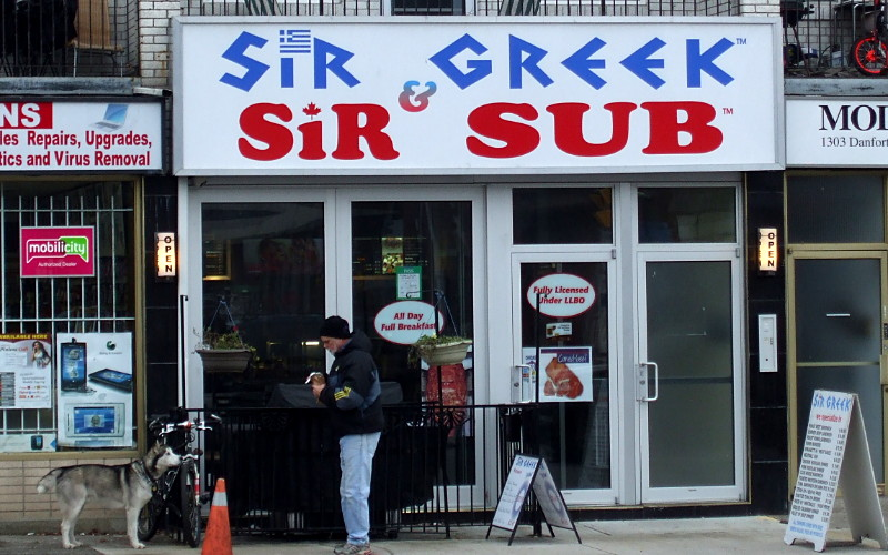 Sir Greek and Sir Sub
