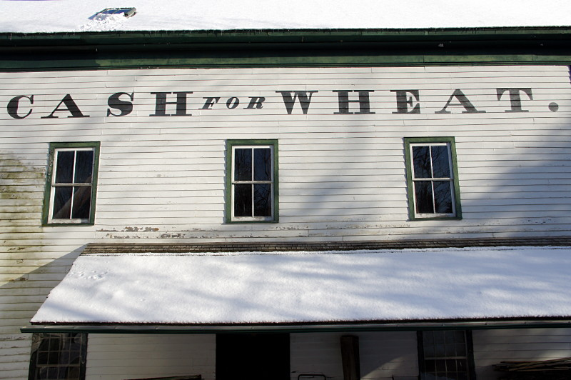 Cash for Wheat at Ball's Mill