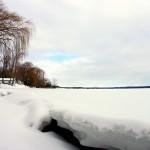 Big crack in the ice