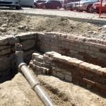 Archeological dig, East Barracks of New Fort York (Stanley Barracks)