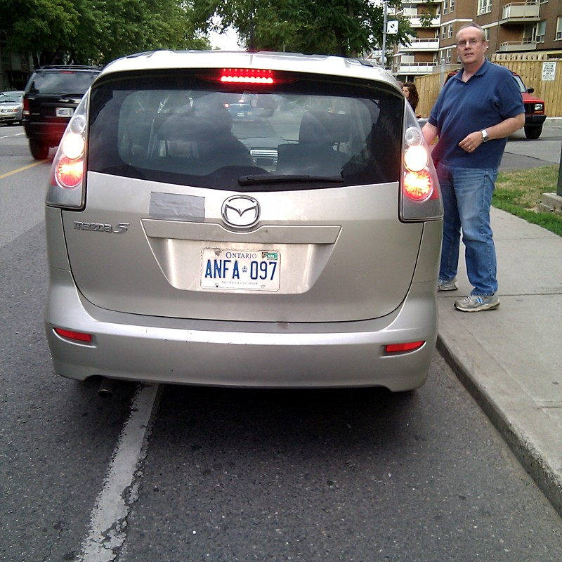 Meet Cliff. Licence plate ANFA 097