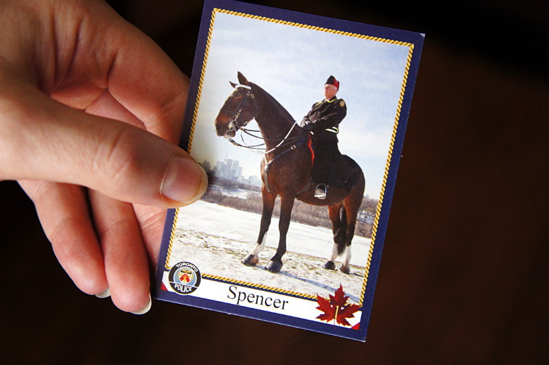 Spencer's trading card