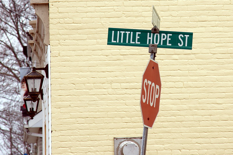 Little Hope Street in Port Hope