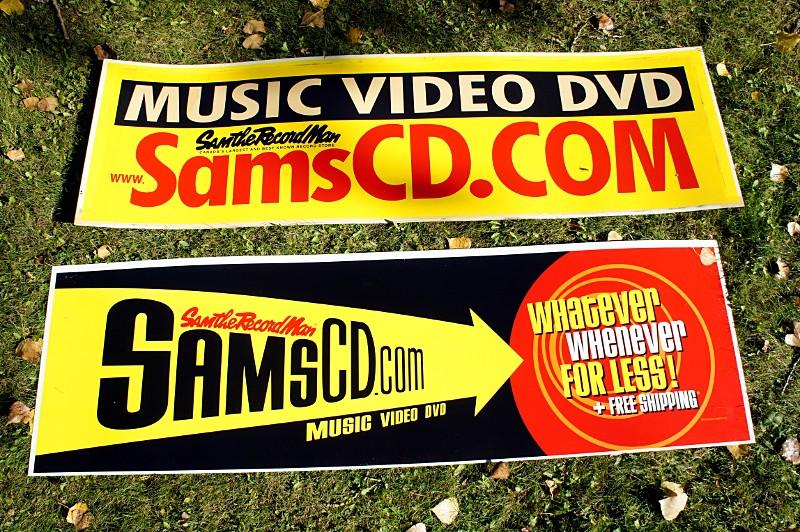 SamsCD.com streetcar ads