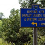 Some Loyalists venturing into Upper Canada obviously didn't make it very far if they landed and were buried in the same place.