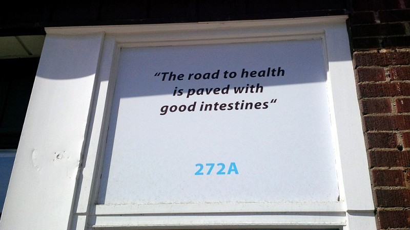 The road to health is paved with good intestines